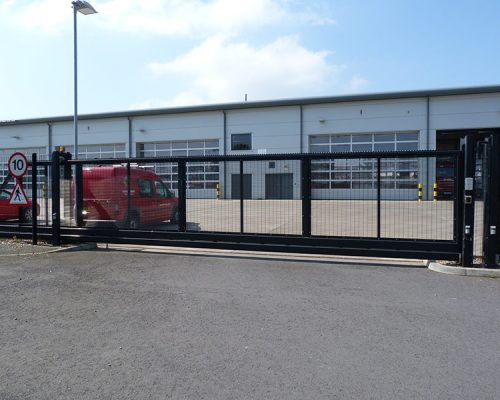 Fire Station Automated Gate