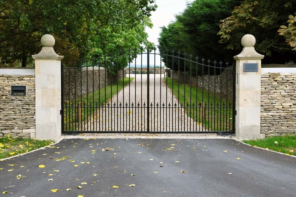 White Fences And Gates