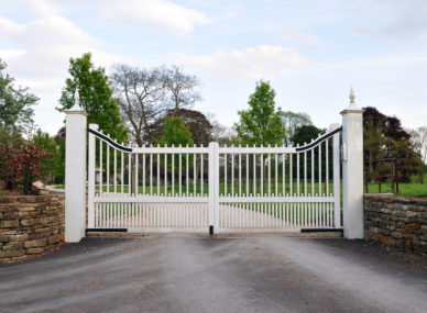 Automatic Wooden Gate
