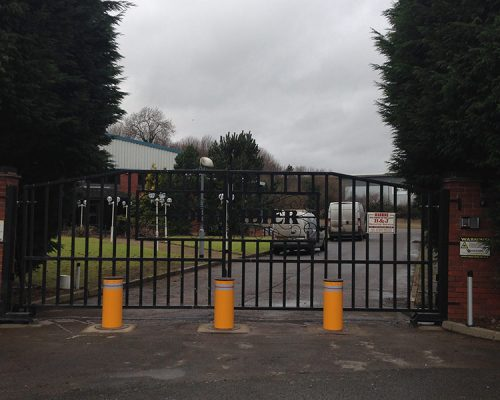 Industrial Automated Gate & Bollards