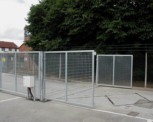 Industrial Automated Gates
