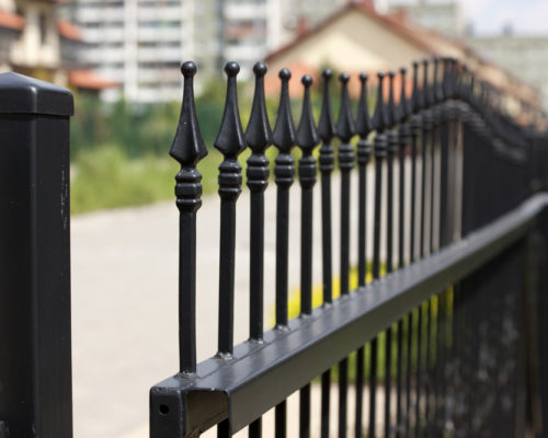 Metal Gate Railings