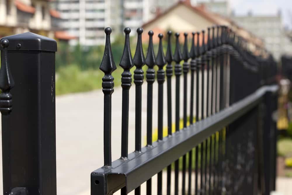 Metal Gate Railings